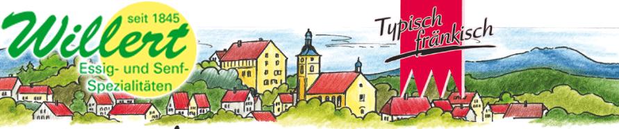 Essig- und Senfspezialitäten Willert - Franken Körble