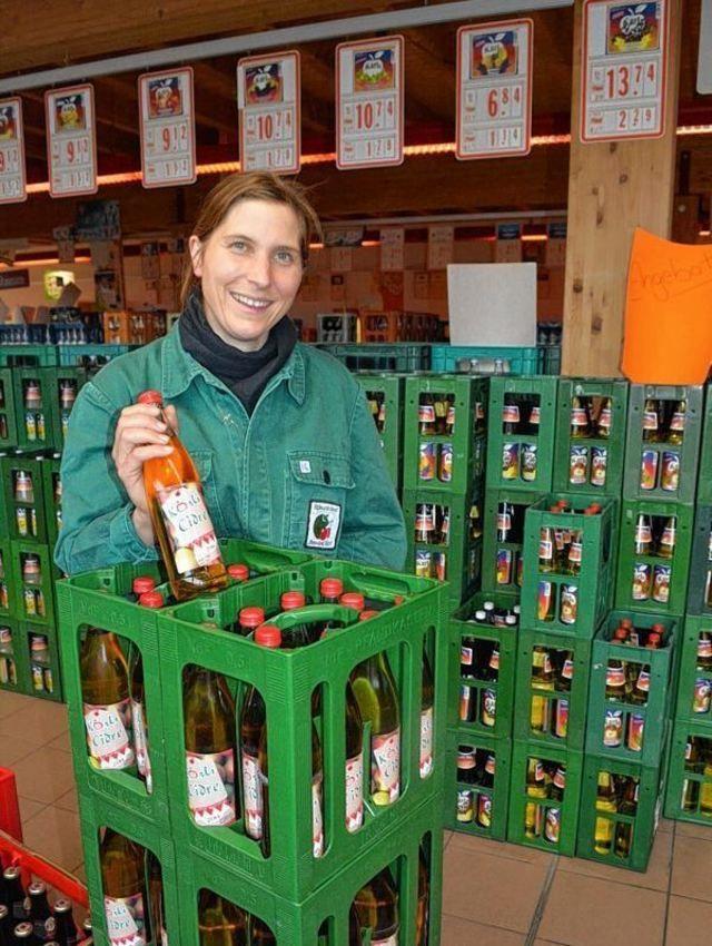 Charaktervoller Cidre aus heimischen Äpfeln