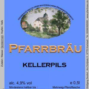 Pfarrbräu Kellerpils