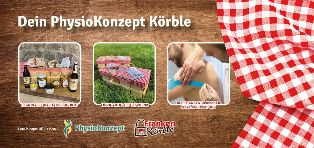 PhysioKonzept und Franken Körble Flyer 2