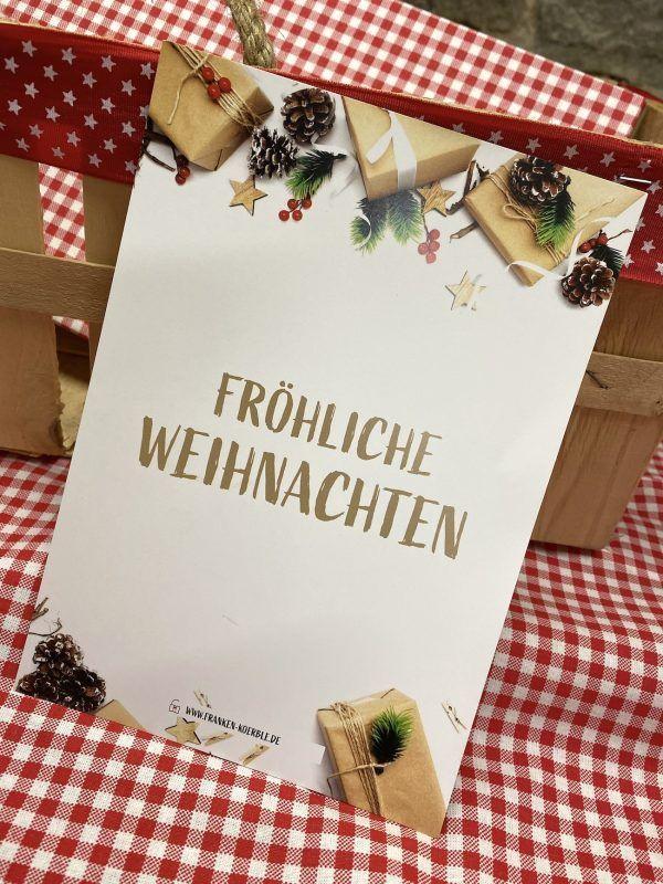 Franken Körble Weihnachtsgeschenke